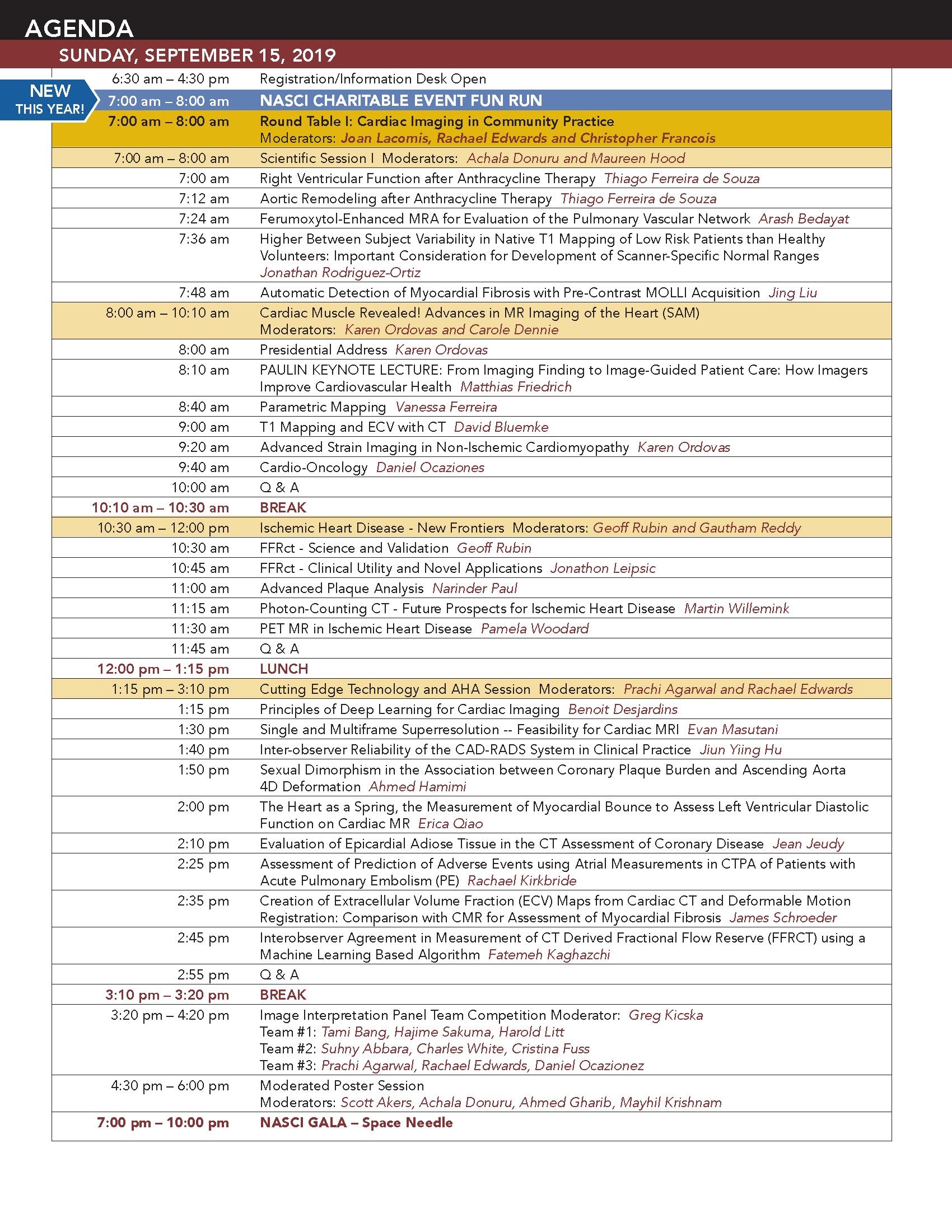 Future Meetings | NASCI
